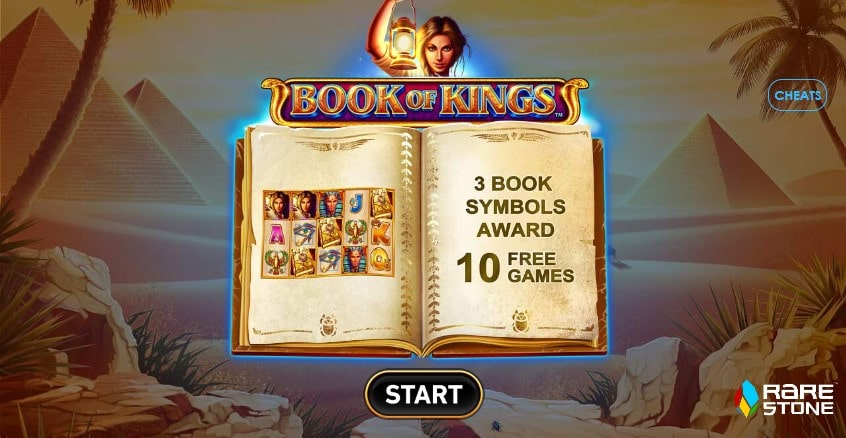 Игровой автомат Book of Kings в казино Jozz