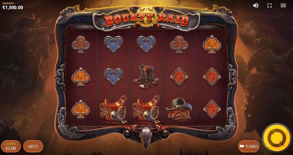 Обзор слота Bounty Raid