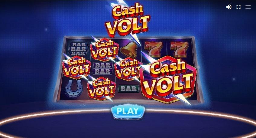 Онлайн слот Cash Volt в казино Джозз