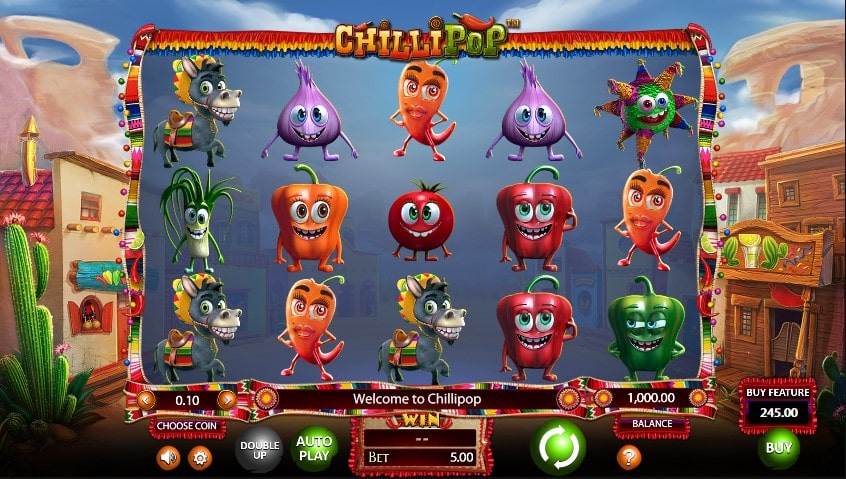 Игровой автомат Chilli Pop в казино Jozz