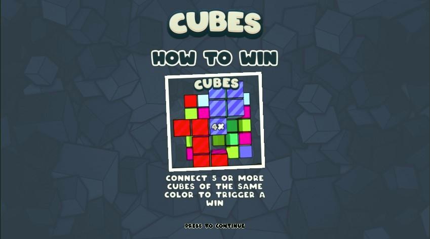 Онлайн слот Cubes
