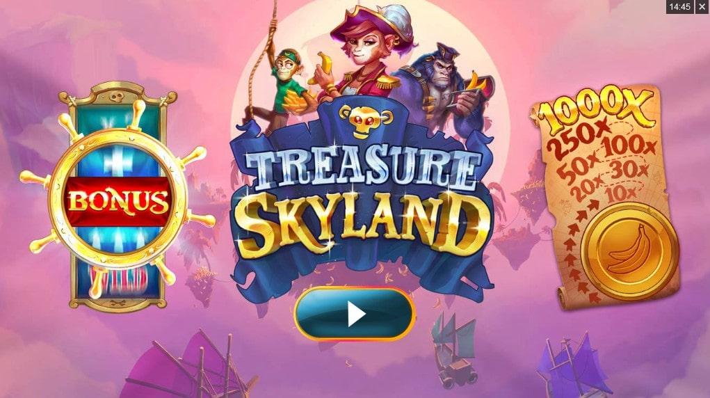 Игровой автомат Treasure Skyland