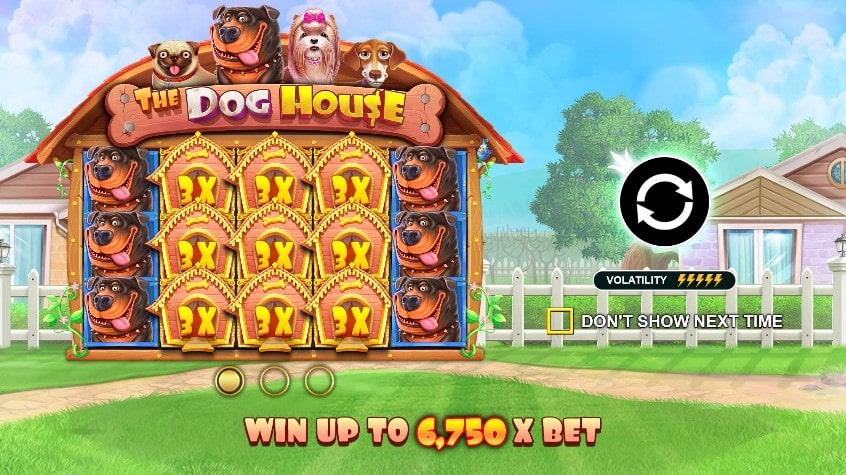 Игровой автомат The Dog House в Jozz Casino