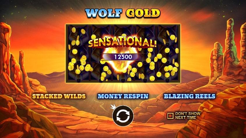 Игровой автомат Wolf Gold в Jozz Casino
